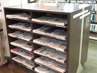 新聞コーナーの写真